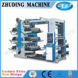 6 Color 1200mm Roll to Roll Plastic Bag Flexo Printing Machine