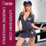 Sexy Halloween Carnival Women Cop Costume (L1112)