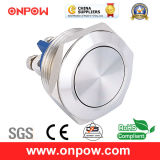 Onpow 19mm Metal Pushbutton Switch (GQ19SF-10/S, CCC, CE, RoHS Compliant)