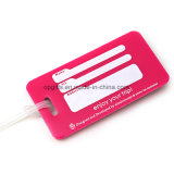 Costomized PVC Travel Plastic Hang Luggage Tag (KC05)