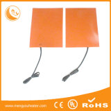 Durable High Power Slicone Rubber Flexible Hot Plate for Industrial Usage