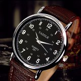 281 OEM Stainless Steel Back Branded Logo Wrist Quartz Number Face Men and Women Couple Watch