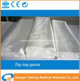 Medical Supply Zigzag Gauze Piece