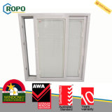 PVC Hurricane Impact Sliding Windows with Blind Inside