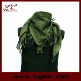 Army Green Military Camouflage Fish Net Mesh Army Polyester Scarf