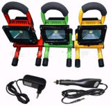 with Lithium Battery Rechargeable & Portable 20W LED Floodlight