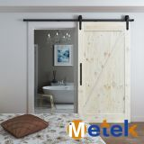 Hot Sale High Quality Solid Wood Barn Sliding Door