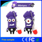 Hot Selling Funny Purple Minions USB Memory Disk