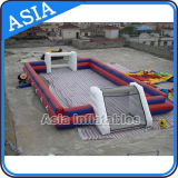 Play Bubble Soccer on Inflatable Football Filed with Friend
