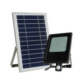 Outdoor 15W Solar LED Garden Flood Light with PIR Motion Sensor