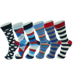 Custom Cotton Jacquard Unisex Sock in Various Designs and Sizes