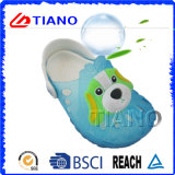 Wholesale Cheap PVC Side with Dog Design Children Clogs (TNK40075)