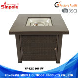 Adjustable Grill Indoor or Outdoor Gas Fire Pit Table
