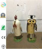 Iron Chicken Mold Metal Owl Home Decoration