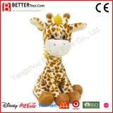 En71 Cute Soft Giraffe Plush Stuffed Animal Toy for Baby