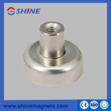 Rpm-D36 Neodymium Pot Magnet with Internal Threaded Hole