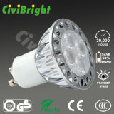 Sliver LED Lamp 5W Aluminum Housing Sunshine Series LED Spotlights