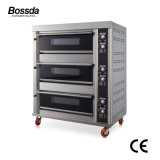 Stainless Steel Electric Bakery Oven Electrical Bread and Pizza Deck Oven Prices