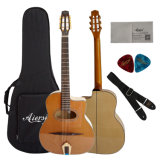 Great Design Maccaferri Gypsy Jazz Grande Bouche Guitar