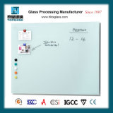 Easy Dry Erasable Tempered Glass Wall Writing White Board