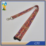 Colorful Polyester Sublimation Lanyard Promotion Gift