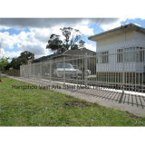 Haohan Cheap Simple Residential Garden Security Galvanized Steel Fence 35