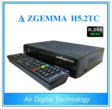 Hevc/H. 265 Smart TV Box Zgemma H5.2tc DVB-S2+2*DVB-T2/C Dual Tuners Bcm73625 Linux OS Enigma2 Combo Satellite Receiver