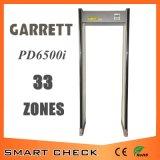 High Sensitivity 33 Zone Security Detector Walk Through Metal Detector Gate