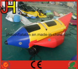 2 People Riding Water Game Inflatable Banana Boat