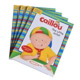 Eco-Friendly Full Color Children Story Book