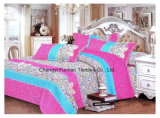 Polyester Microfiber Printed Bedding Set Used for Home