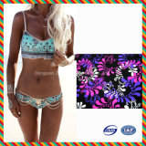 Wholesale 2017 New Design Africa Print Sexy Mature Women Bikini
