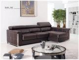 Genuine Leather Recliner Sofa (855)