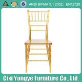 Resin Wedding Chiavari Chair with Cushion