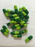 OEM/ODM Weight Loss Light Green and Dark Green Colour Slimming Capsule
