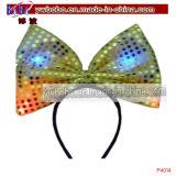 Light up Spangle Bow Headband Hair Jewelry Hairband (P4014)