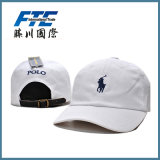 Promotion Embroidery Polo Baseball Cap with Metal Buckle