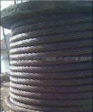 Steel Wire Rope 6*36sw Liner-Contact Steel Wire