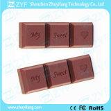 Custom Chocolate 8GB USB Flash Drive with Logo (ZYF5016)