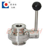 Manual Stainless Steel Sanitary Butterfly Valve