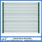 PVC Coated Metal Garden Mesh Fence Panel