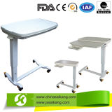 PP Material Bed Surface Over Bed Table (CE/FDA/ISO)