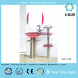 Floor-Mounted Glass Bathroom Furniture Bls-2144)