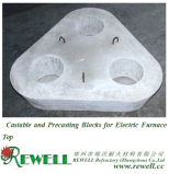 Castable and Precasting Blocks for Electric Furnace Top