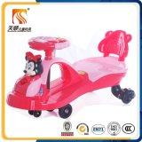 2016 China Plastic Wheel Music Swing Car in High Quality