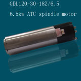 Water Cooling Automatic Tool Change 6.5kw Spindle Motor (GDL120-30-18Z/6.5)