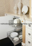 Solid Wooden Kitchen Cabinet with Europen Style