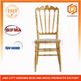 Gold PC Resin Royal Chair for Wedding Event