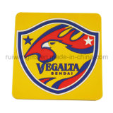 Fashion Square Soft PVC Rubber Placemat for Promotional