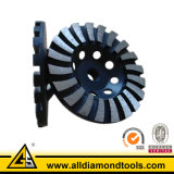 En13236 Stone Diamond Turbo Grinding Cup Wheel